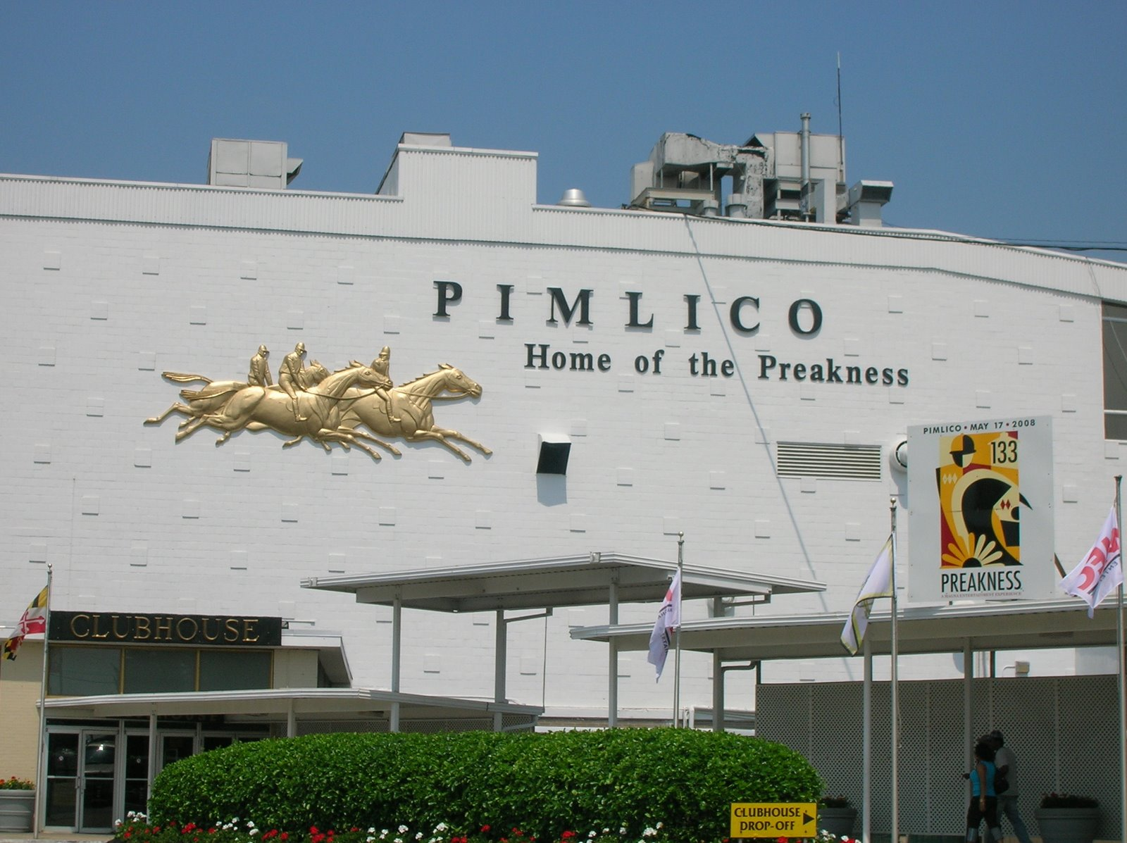 Image result for Pimlico raceway entrance