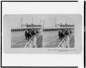 The final turn at Gravesend. Photographed and published by B.W. Kilburn, c1909. Library of Congress.