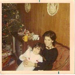 Mom and me Christmas