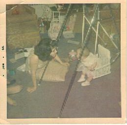 Mom & me swing
