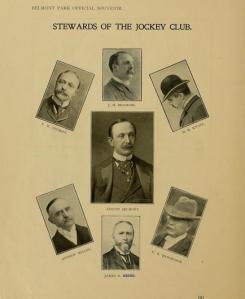 Belmont Park inaugural program, May 1905