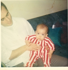 Baby picture with Dad