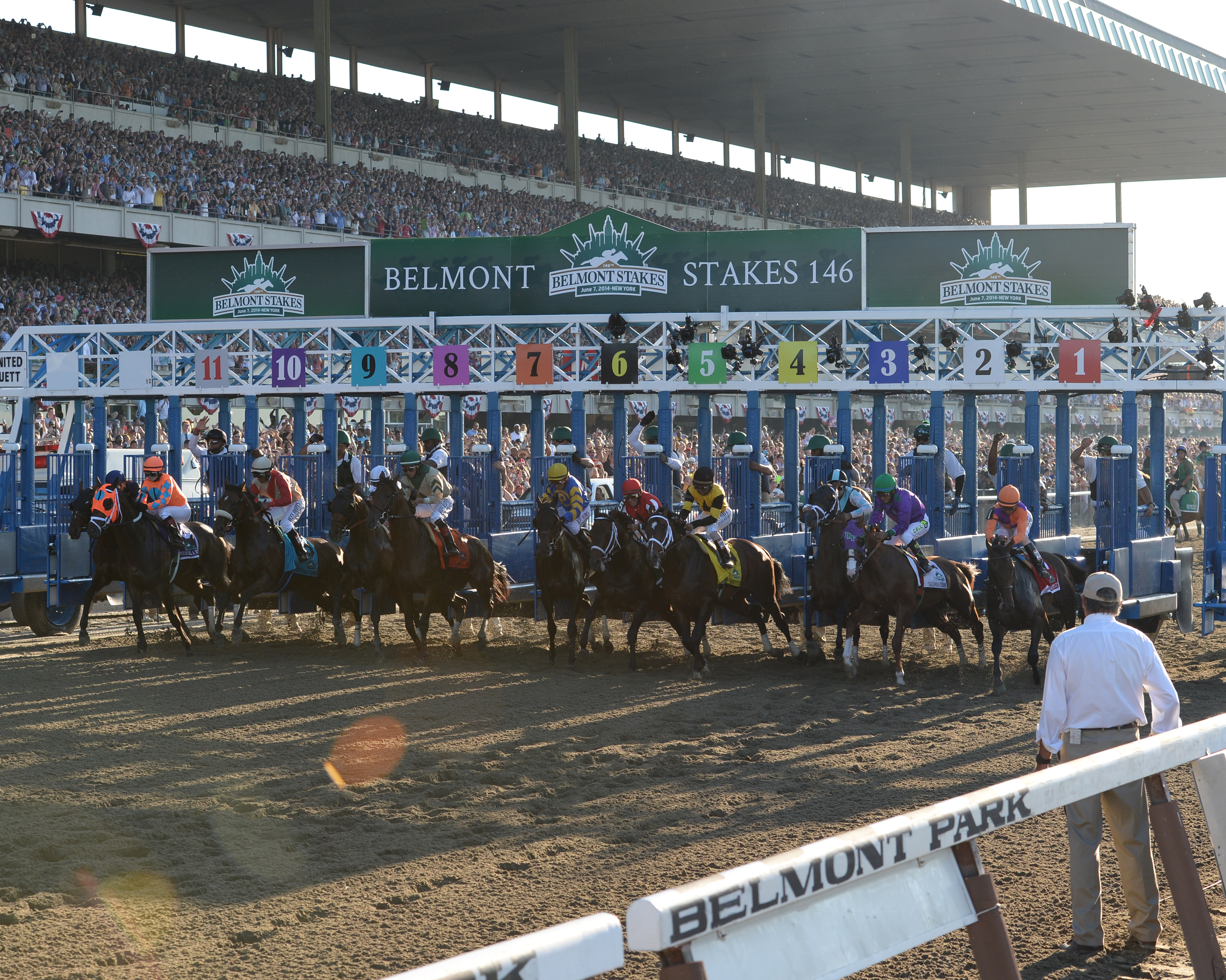 Belmont Stakes A for racing but customer service fails