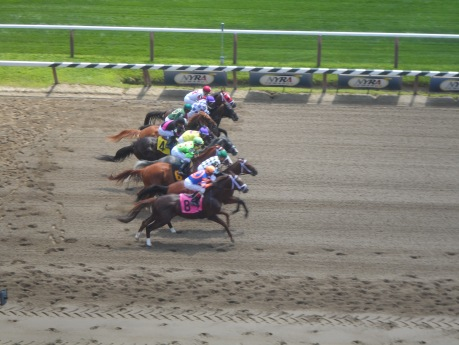 First race Saratoga 2014