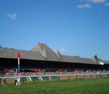 Saratoga grandstand