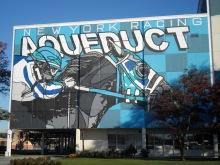 Exterior AQU mural