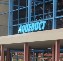 new entrance Aqueduct
