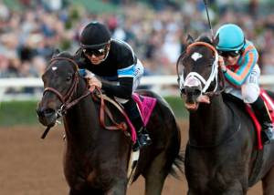 Shared Belief edges Conquest Two Step in the Malibu. Benoit photo.