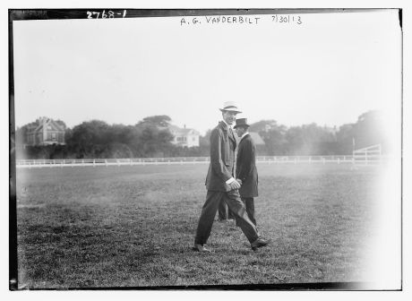 Alfred Gwynne Vanderbilt. Photo courtesy of the Library of Congress.