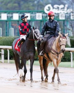 Petrov and Irad Ortiz Jr. Oaklawn Park photo